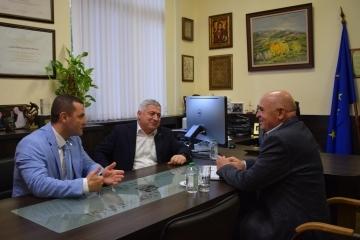 Кметът Пенчо Милков се срещна с ръководителя на административен район Тараклия Иван Паслар