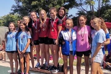 Русенските плувци – шампиони на Държавното първенство