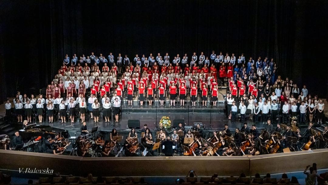 """Русенци се включиха в националния проект """"Детският хор на България"""""""