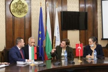 Посланикът на Турция посети Община Русе