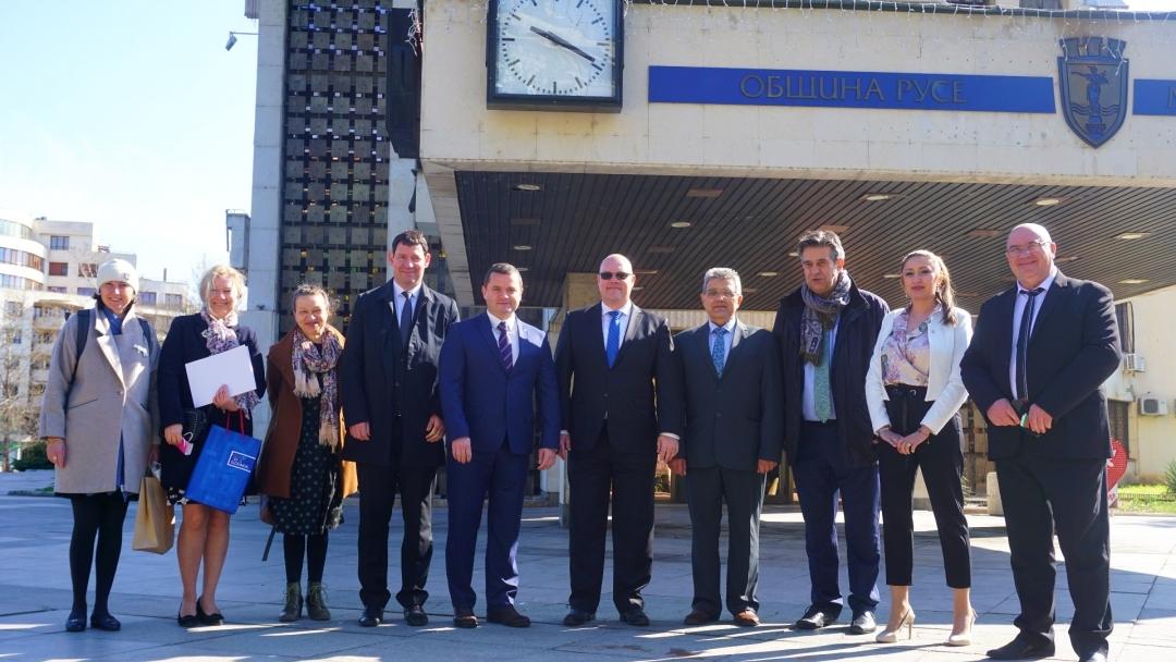 Ръководството на Община Русе се срещна с посланиците на Словакия, Словения и Кипър