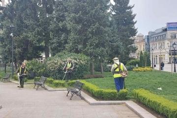 """Справка за дейността на Общинско предприятие """"Паркстрой – Русе"""" за месец май"""