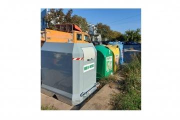 Русе е един от първите три града в България с нова система за сметосъбиране