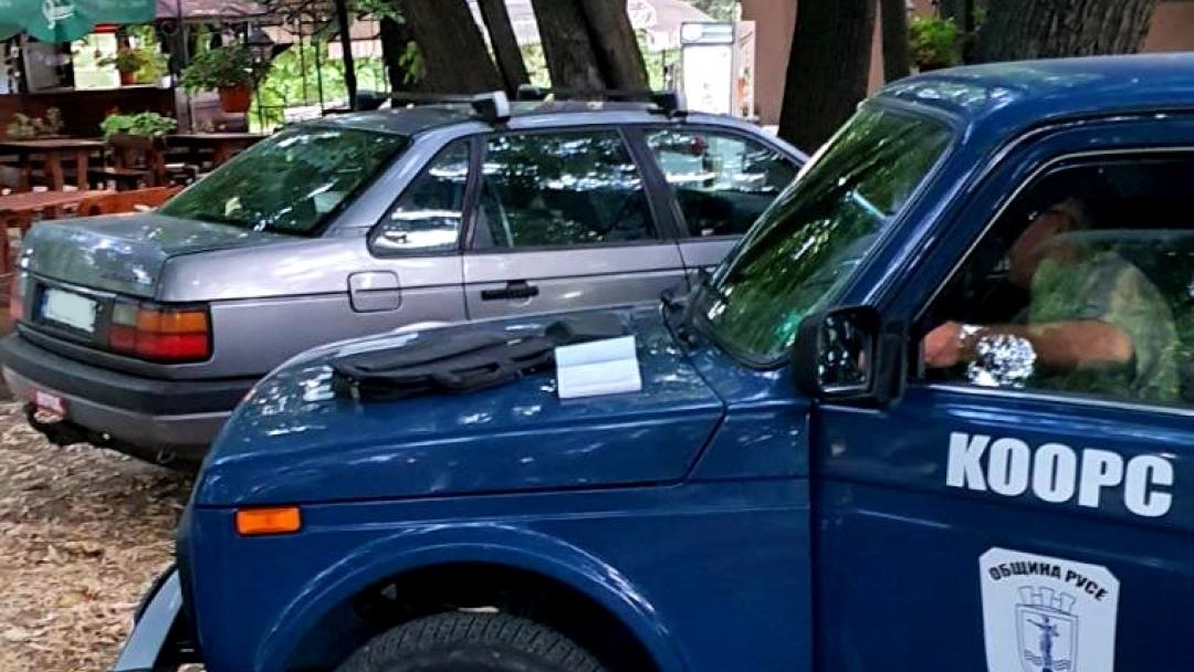 Община Русе с поредна акция срещу навлизащите автомобили в Парка на младежта