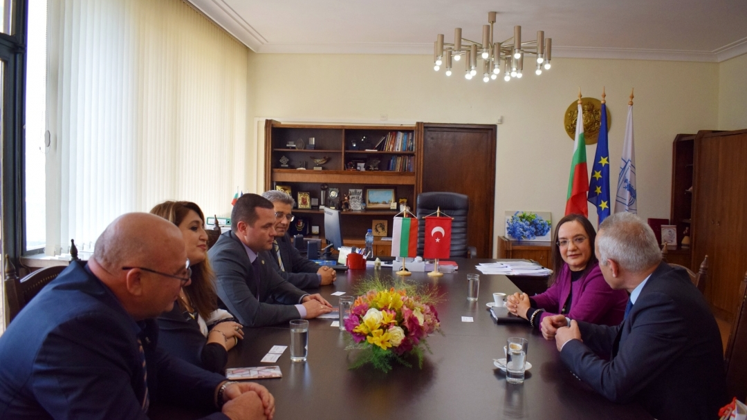 The Consul General of Turkey in the city of Burgas visited Ruse