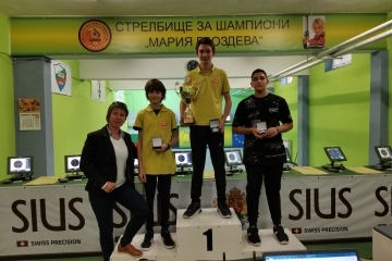 Русенските стрелци спечелиха 12 медала в републикански турнир