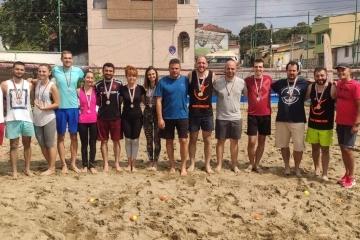 Завърши любителският турнир по плажен тенис в Русе