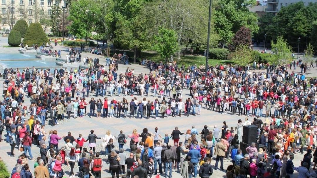 Фолклорен концерт на площада по случай Великден