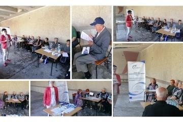 ОИЦ - Русе представи проекти с европейско финансиране пред пенсионери в Каран Върбовка