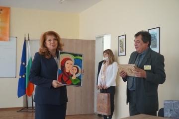Вицепрезидентът Илияна Йотова посети Русе
