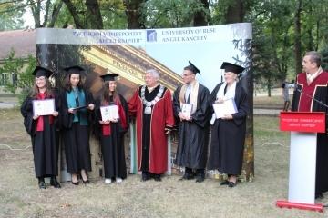 73-ма са първенците от випуск 2020-2021 г. на Русенския университет