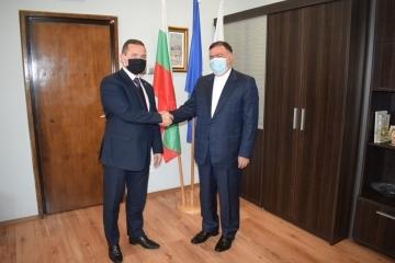 Иранският посланик посети Русе днес