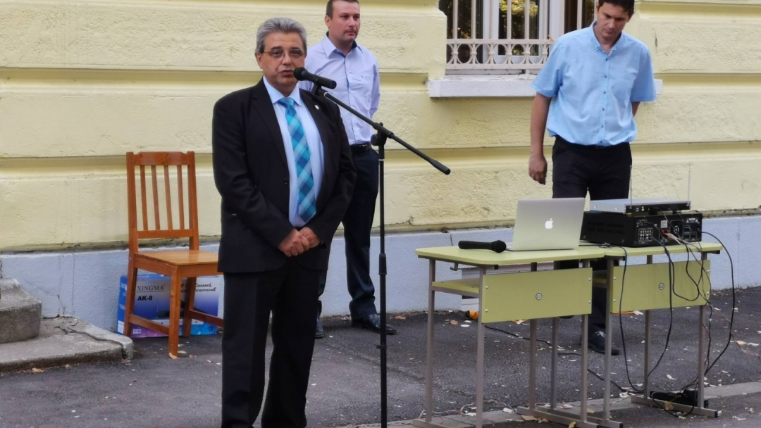 Ръководството на Община Русе откри учебната година в русенски училища