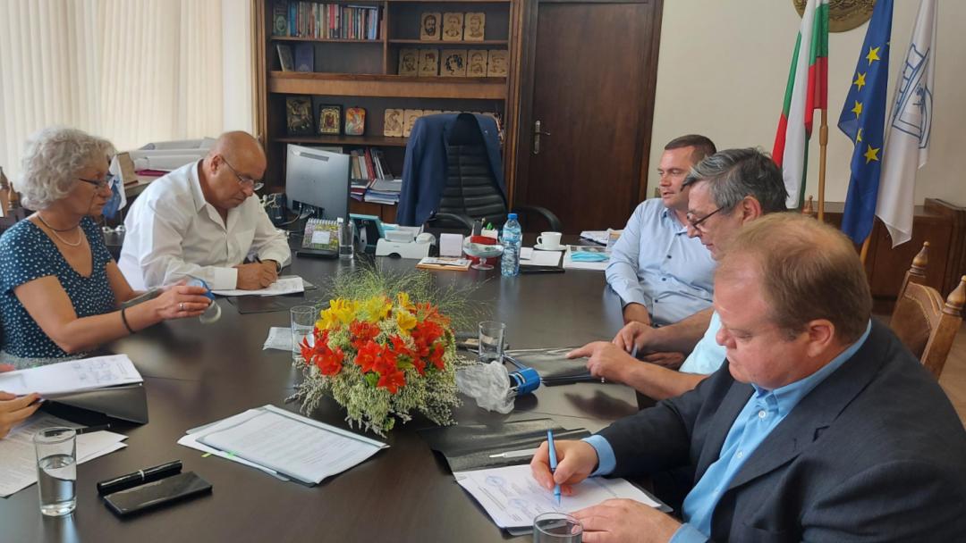 Кметовете на Русе, Сливо поле, Ветово и Тутракан сключиха партньорско споразумение за участие в екопроект