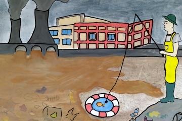 Рекорден брой творби на Международния конкурс за рисунки и фотография, посветен на водата