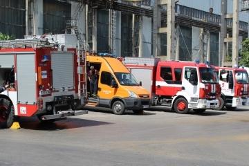 Доброволческото формирование на Община Русе се включи в учение за реакция при бедствия и аварии