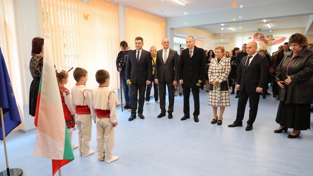"""Детска градина """"Пинокио 2"""" е изцяло обновена с Европейски средства"""