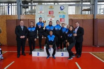 Жените-боксьори от Русе са първи на Държавното отборно първенство