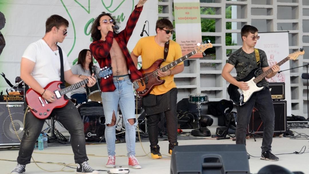 Стотици фенове на рока събра Грийн рок концерт