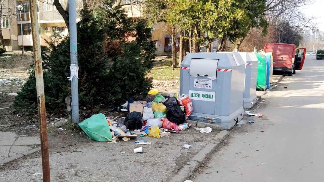 Община Русе наложи санкция на сметоизвозващата фирма