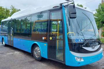 Първият чешки електробус вече се движи по русенските улици