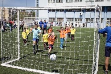 """Любовта към футбола и """"Дунав"""" събра над 250 деца на едно място за празника на Русе"""