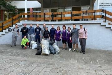 Русенските доброволци с поредното голямо почистване – този път в Здравец Север