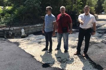 Кметът на Община Русе огледа наскоро завършени улични ремонти