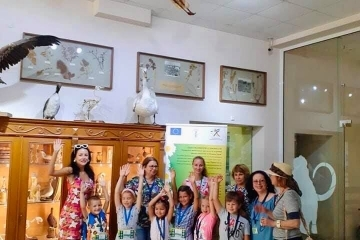 """Децата от """"Лятното училище"""" се запознаха отблизо с богатия животински свят на Русенския регион"""