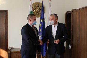 Посланикът на Украйна Н. Пр. Виталий Москаленко посети Русе
