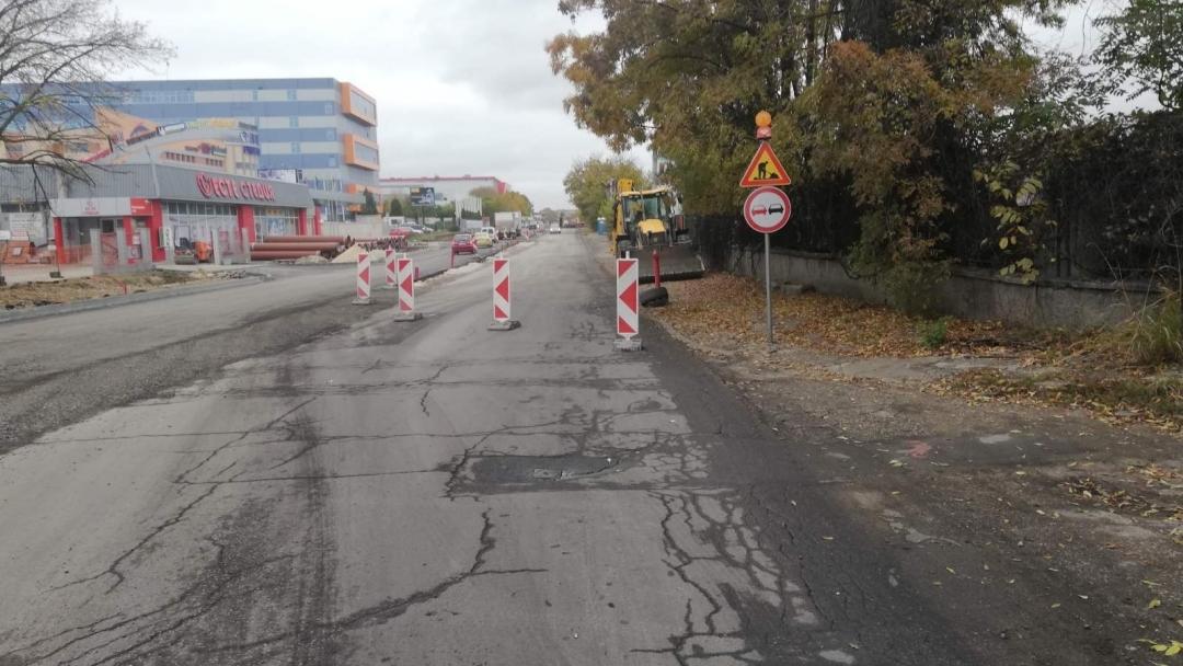 """Въвежда се временна организация на движението по улица """"Потсдам"""""""