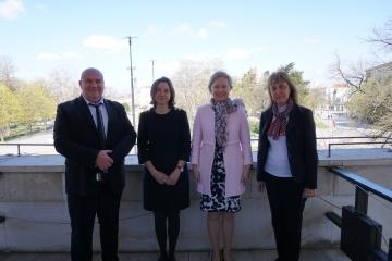 Община Русе обсъди проекти за култура и образование с дипломати от Чехия и Словакия