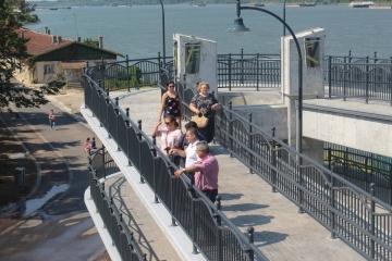 Кметът на Община Русе Пенчо Милков направи оглед на крайбрежната зона