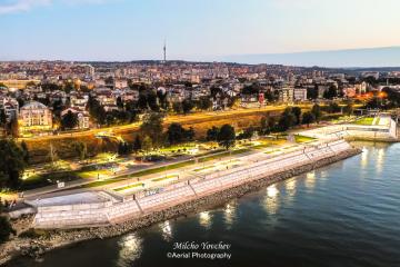 Община Русе представи изпълнението на проекта за изграждане на кейовата стена