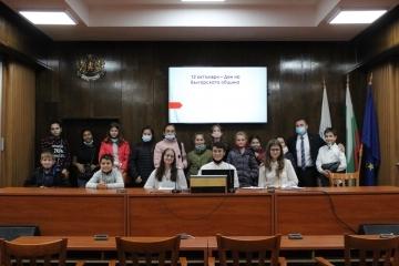 В деня на българската община местната администрация отвори вратите си за русенските ученици