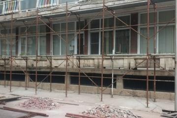 """Започна мащабен ремонт на фасадите на ДГ """"Русалка"""""""