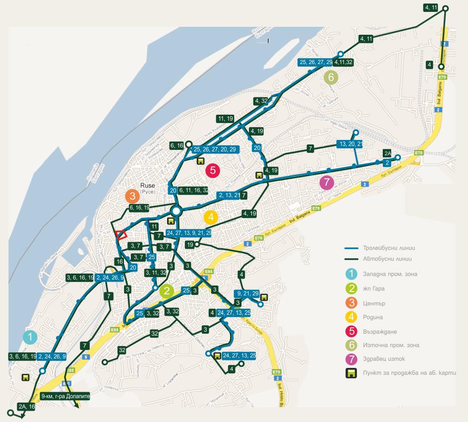 Grafik Na Gradskiya Transport V Ruse Dunavmost Com